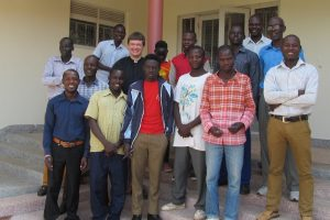 Teaching Romans in Uganda