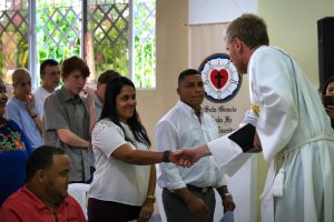 Seven Adult Confirmands in Licey, Dominican Republic