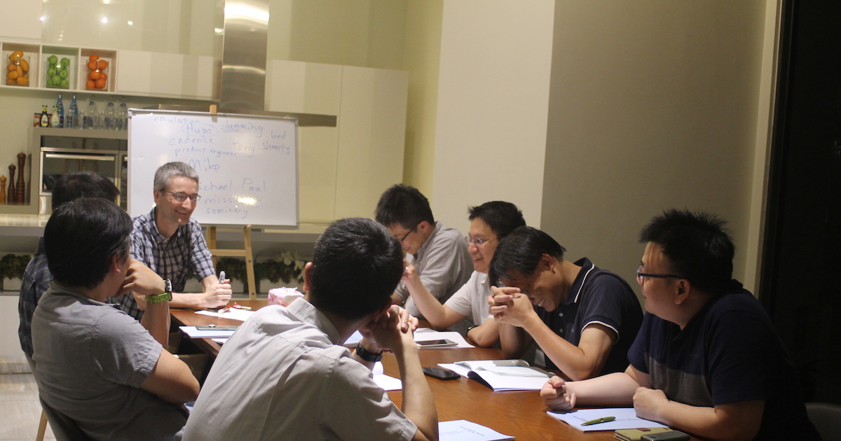 Bringing the Gospel to the Men of Taiwan