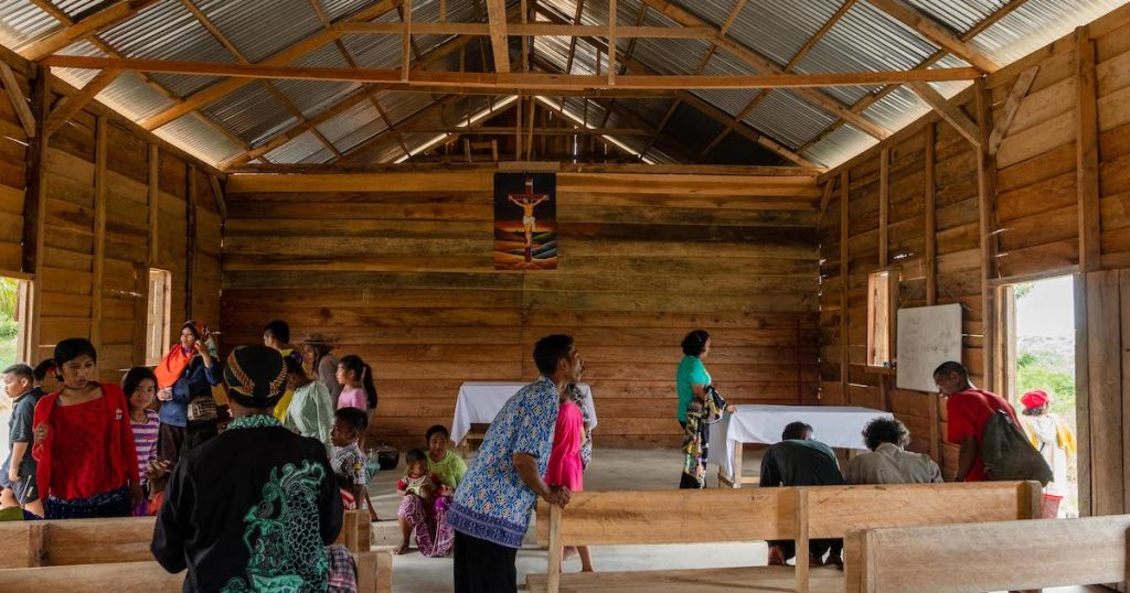 The Indonesian Christian Lutheran Church (GKLI) works with the Sanak people.