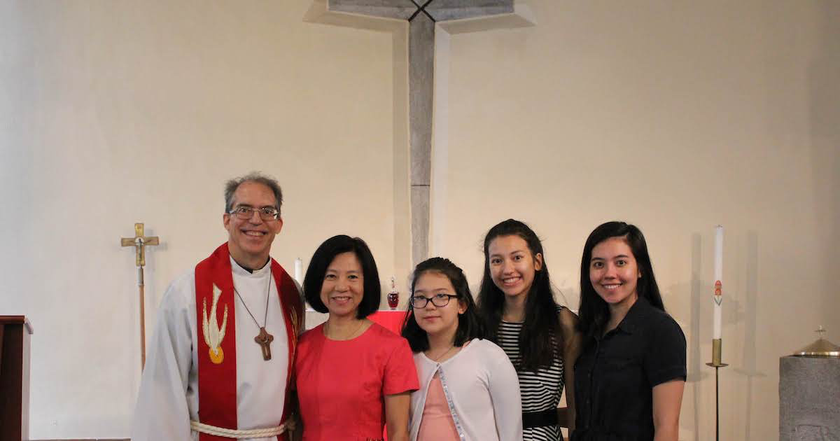 Hanson installed at International Lutheran church in South Korea