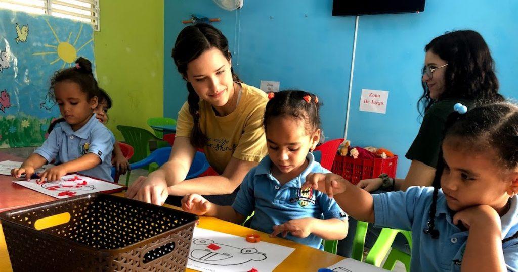 Dominican Lutheran School Children
