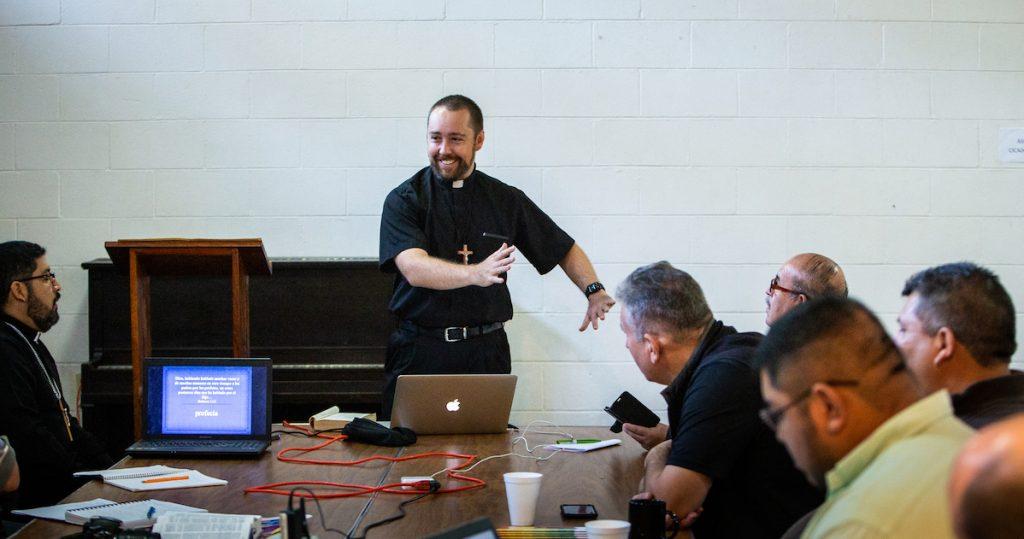 Brian Gauthier teaching