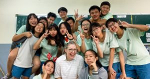 Lutheran Educator Shares Love of Learning — and Christ — with Taiwanese Students
