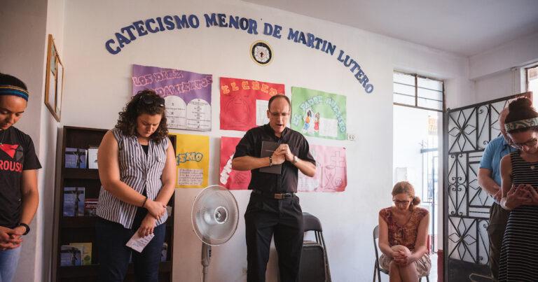 LCMS Community Health Education Mercy Medical Team in Lima, Peru