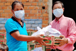 Reaching Those Affected by the Pandemic in Cambodia