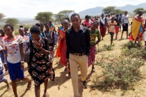 Sharing the Gospel in Samburu