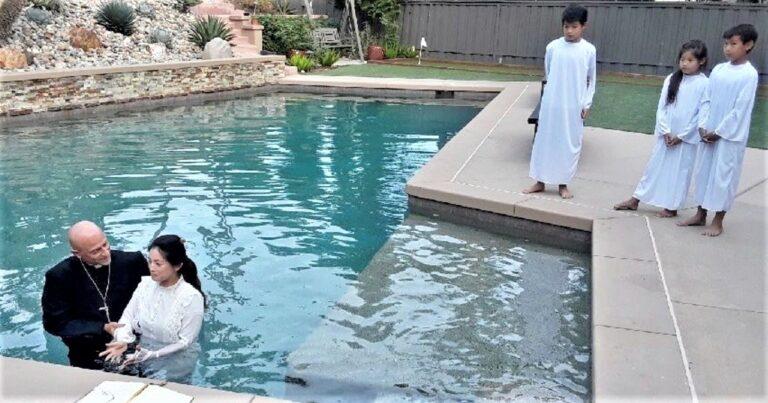 Eurasia Student Baptized