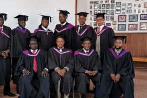 Graduation and Good-bye's from the LTS in South Africa